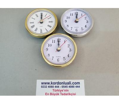 Geçme Saat 6,5 cm Sarı Veya Gümüş Roma Veya Tam Rakamlı