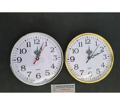 Geçme Saat 16 cm Sarı Veya Beyaz 100 Adet