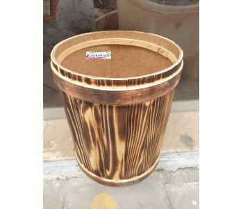 Baharat Kuruyemiş Teşhir Kovası Ağız Çapı 25 cm Kapaklı