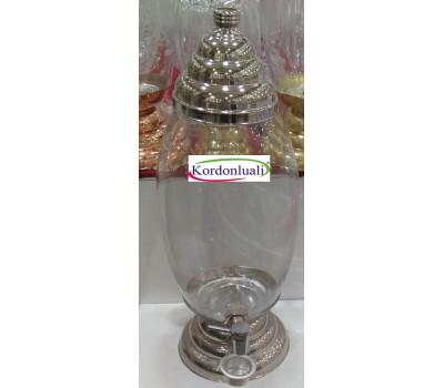 Bal Pekmez tahin Kavanozu 20 lt Gümüş Kaplama